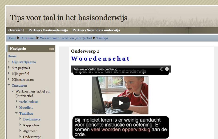 Moodle hosting en support voor Pedagogische Begeleidingsdienst Stad Gent